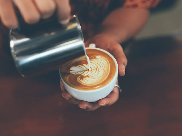 Purple Square Coffee