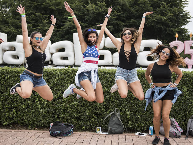 Lollapalooza 2016, Friday