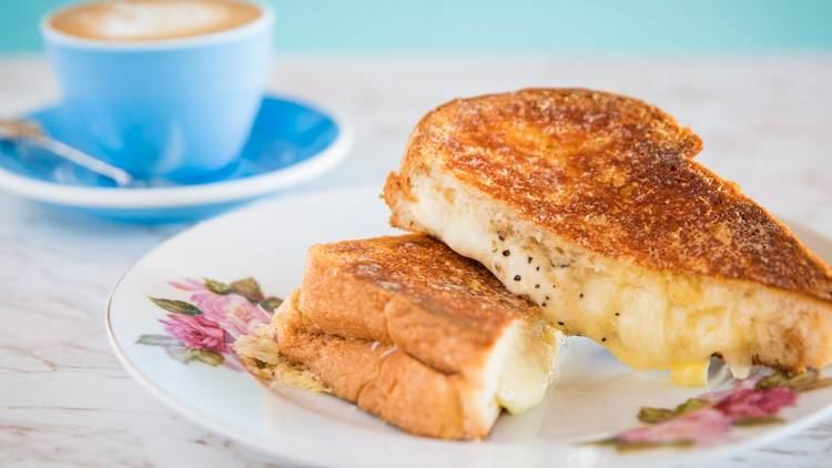 Cheese toastie at Little Lord