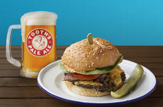 ADV - Tooths Pale Ale and burger DO NOT USE