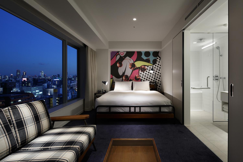 Shinjuku granbell hotel hotels in higashi shinjuku tokyo for Design hotel tokyo