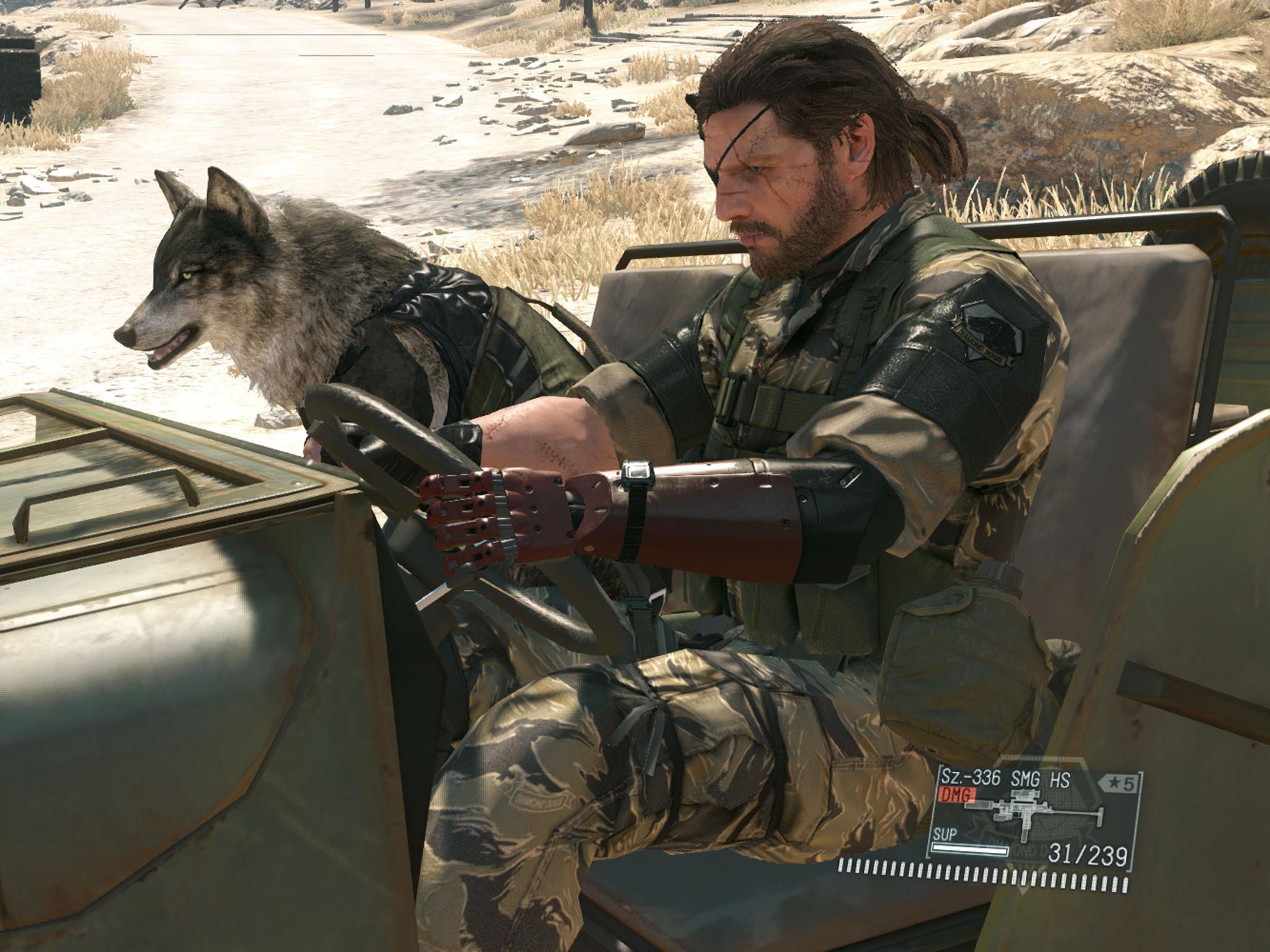 Jogo PS4 Metal Gear Solid V: The Phantom Pain