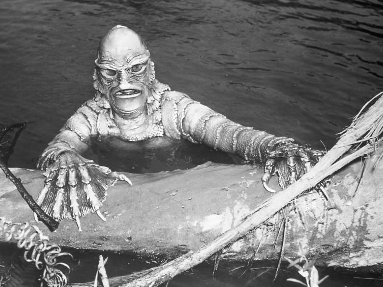'La mujer y el monstruo', 1954