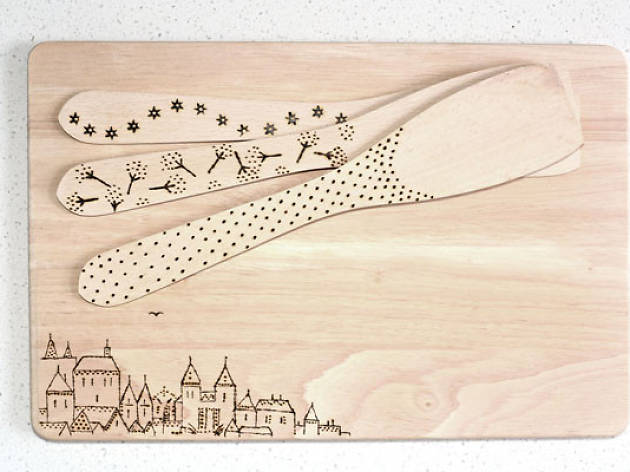 Pyrography workshop