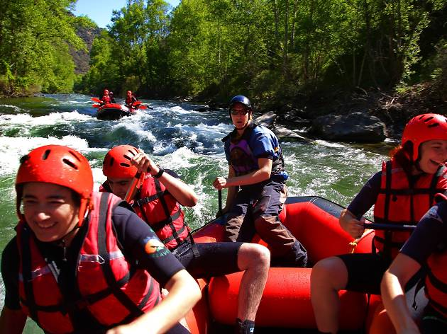 Canyoning and rafting in the Pyrenees