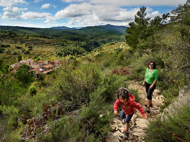 In the Prades mountains