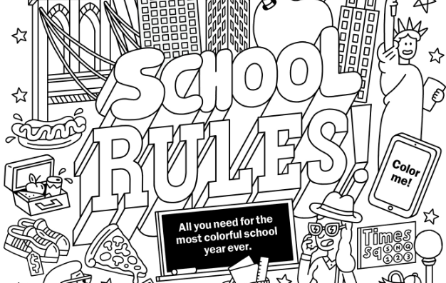 Enter to win Time Out Kids' ColorNY coloring contest!