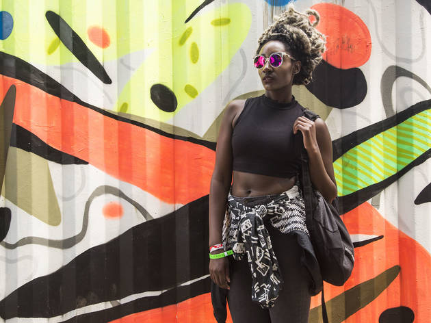 The best fashion at Lollapalooza