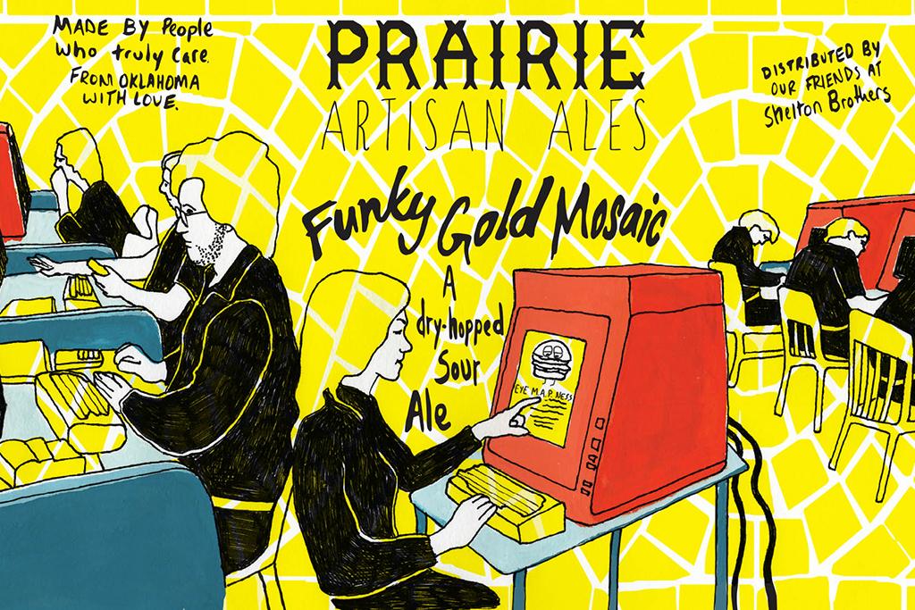 Funky Gold Mosaic, Prairie Artisan Ales, Tulsa, OK