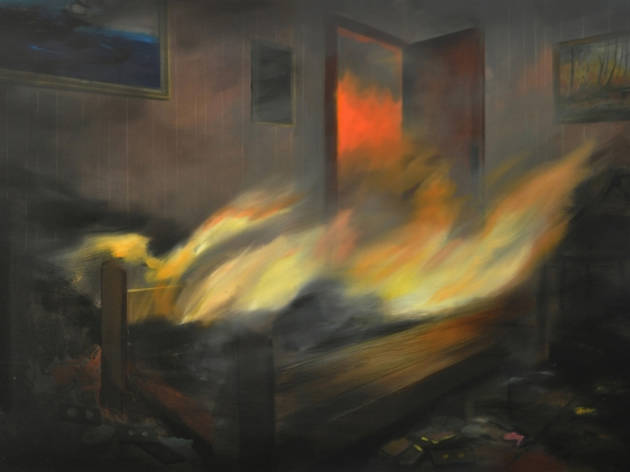 Brandi Twilley, Bed on Fire, 2016