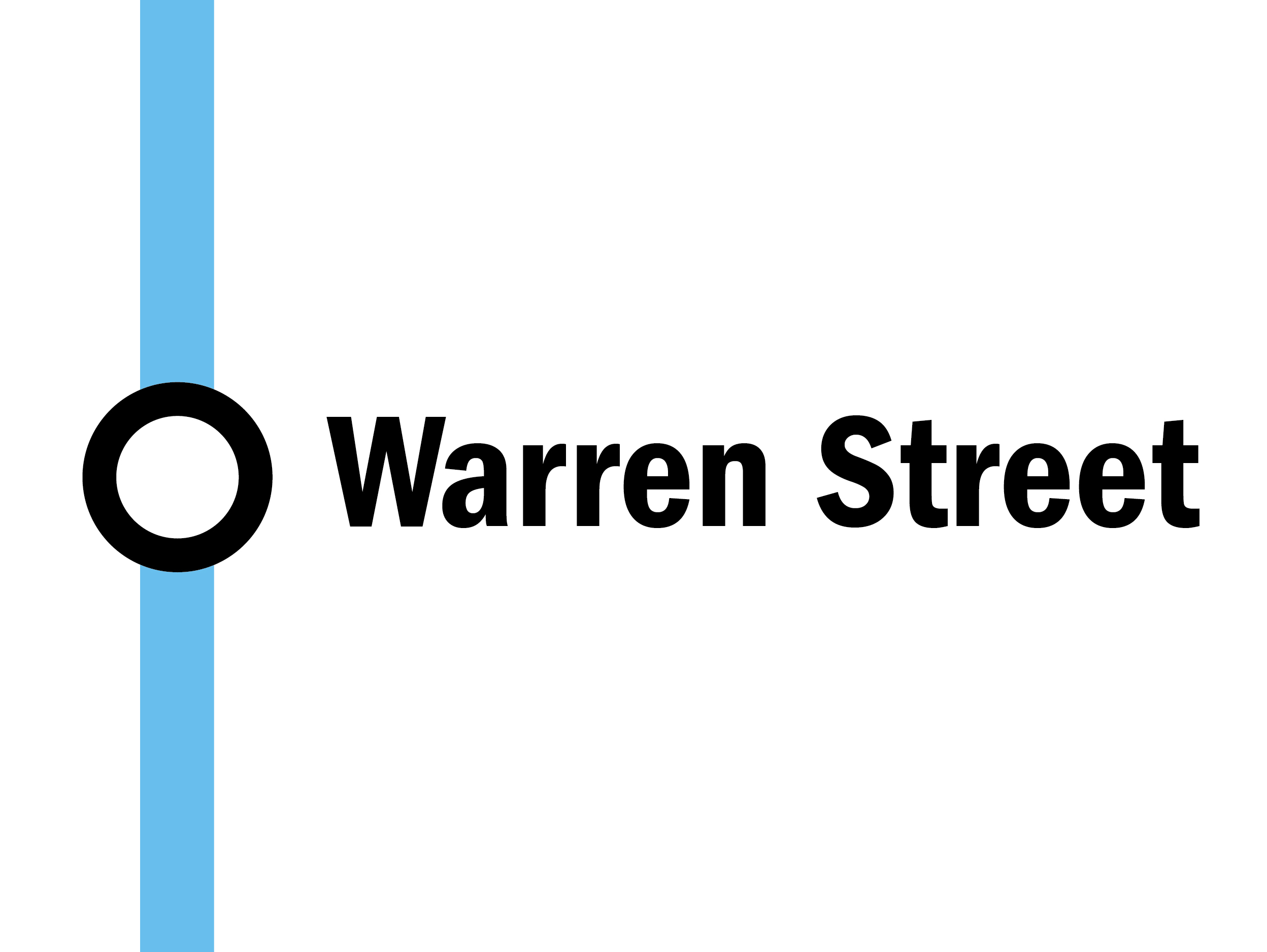 Night tube: Warren Street