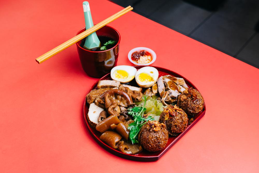 Jin Ji Teochew Braised Duck and Kway Chap, Bento Combo Jumbo