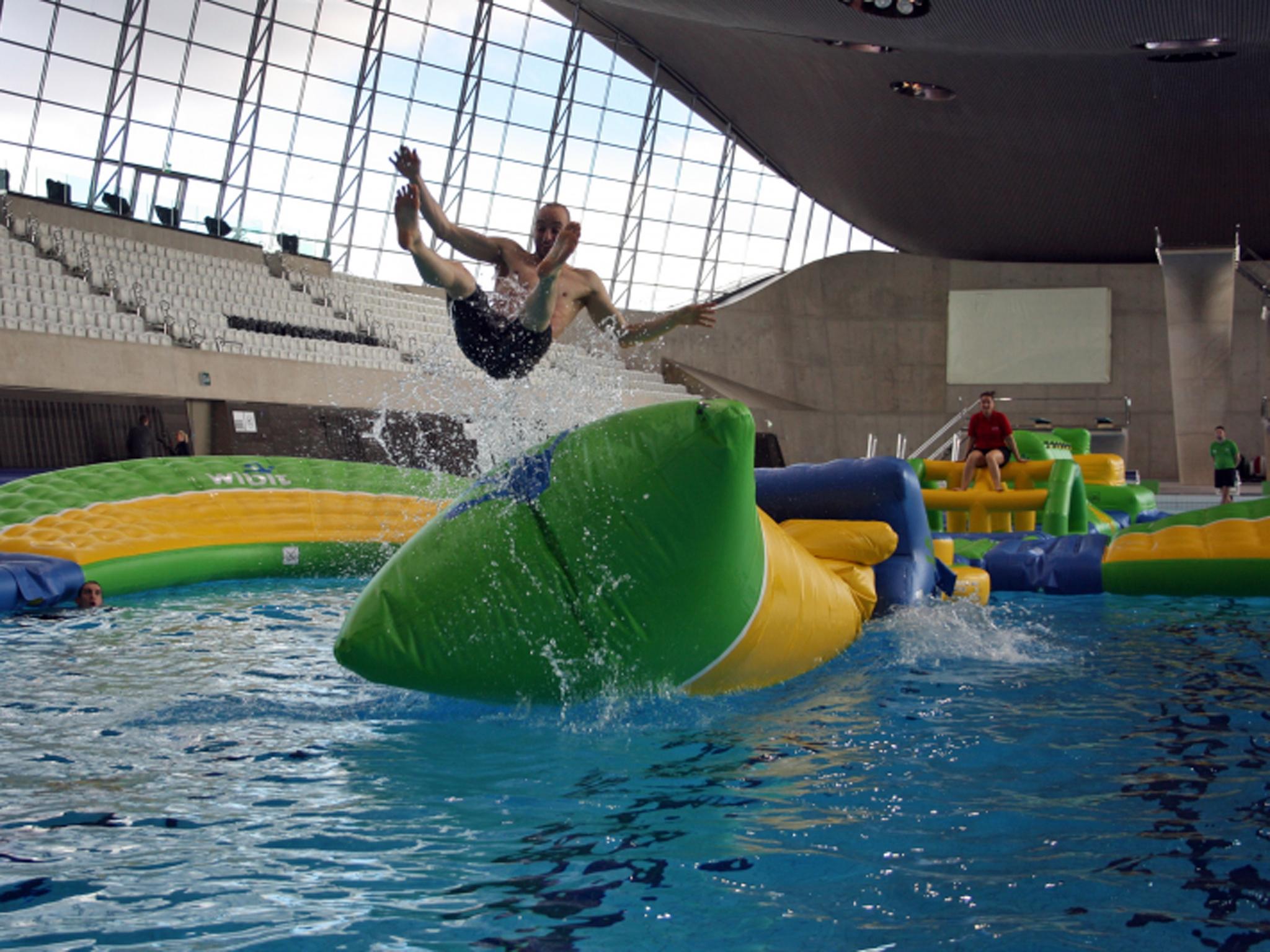 London Aquatics Centre, Extreme Aqua Splash