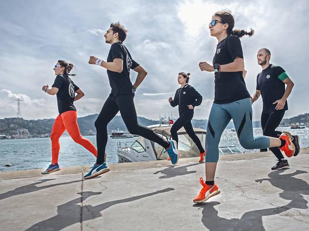 Rundamental - Puma Ignite İstanbul antrenmanları