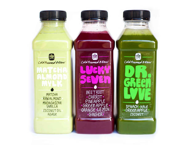 London's best juice bars, The Good Life Eatery