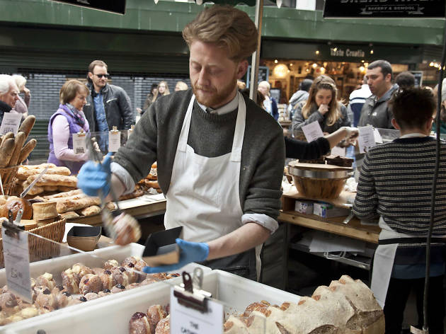 borough market, breadahead