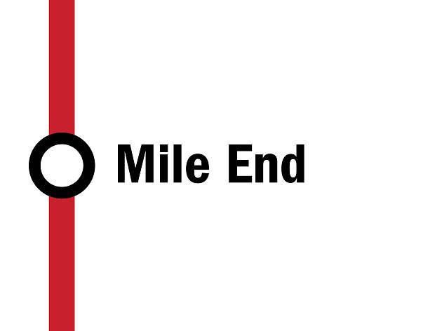 Night tube: Mile End