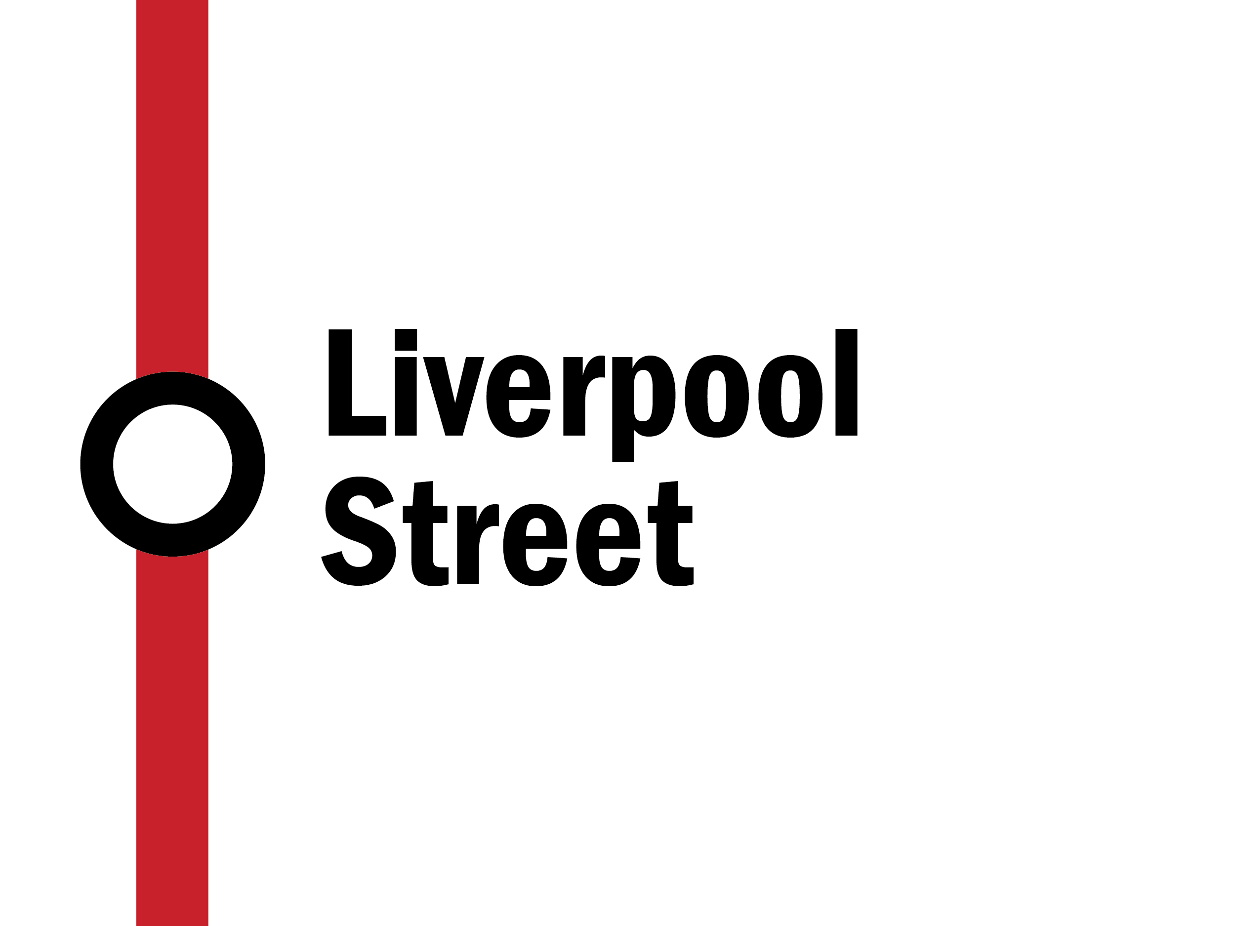 Night tube: Liverpool Street