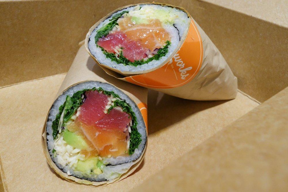 sushi burrito nyc