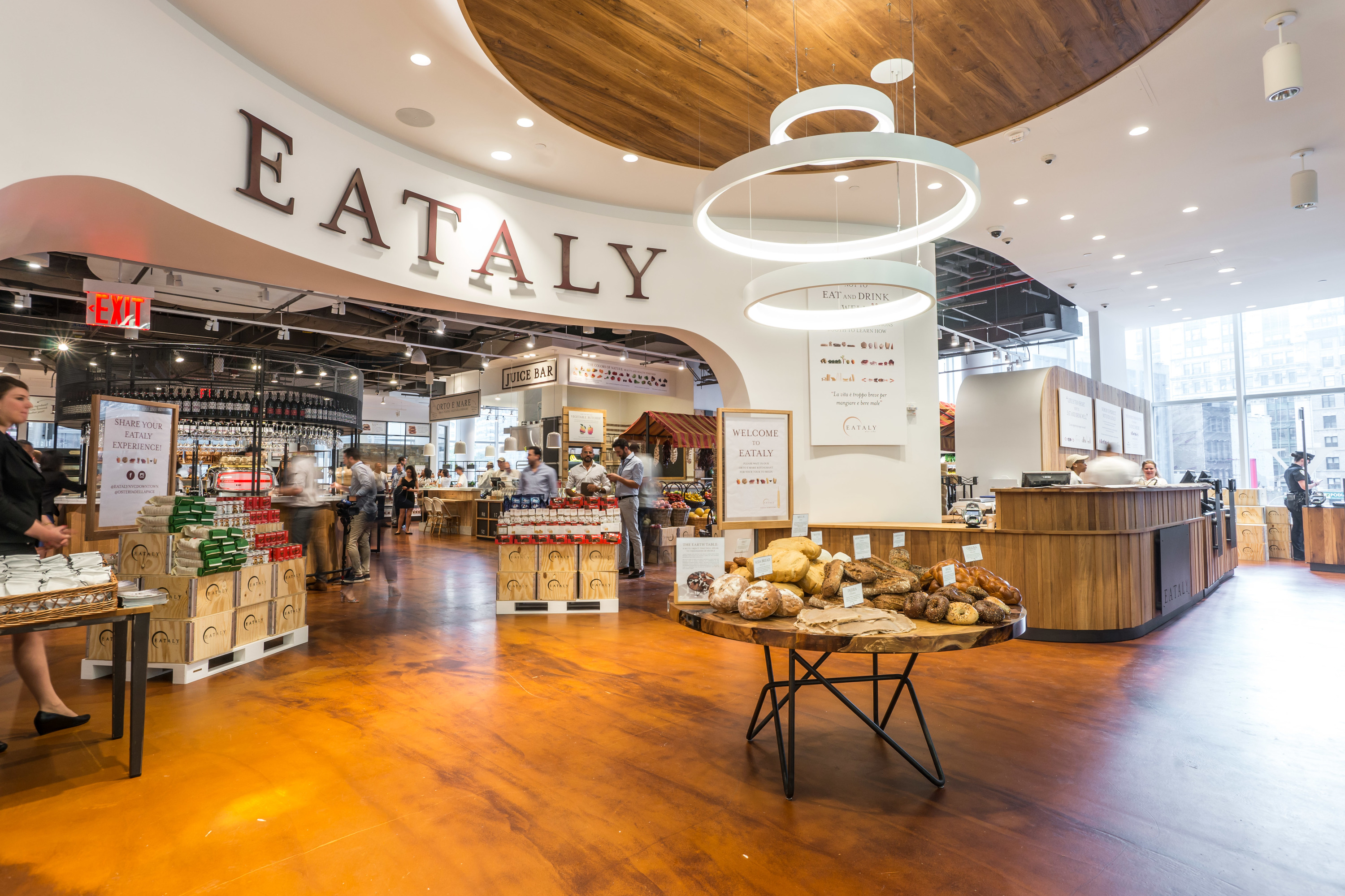 First Look At Downtown S Brand New Eataly