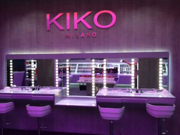 Kiko Milano Shopping In South Beach Miami