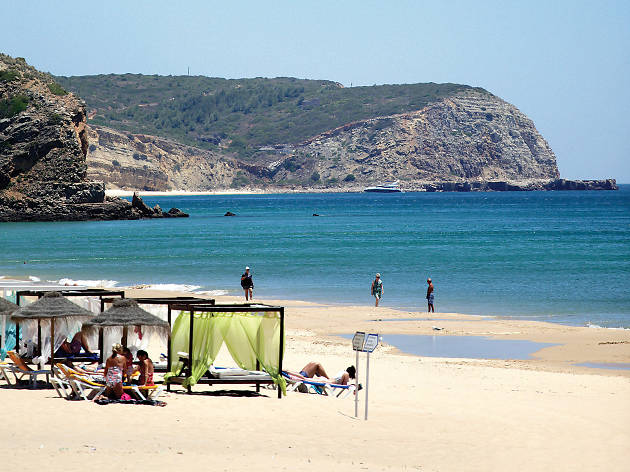 Praia Salema Vila do Bispo