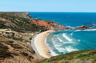 Praia Ponta Ruiva Vila do Bispo