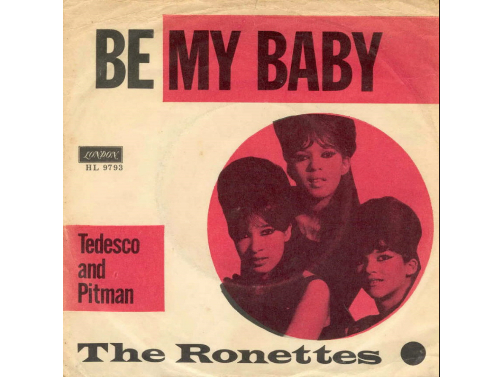 Best pop songs: The Ronettes Be My Baby