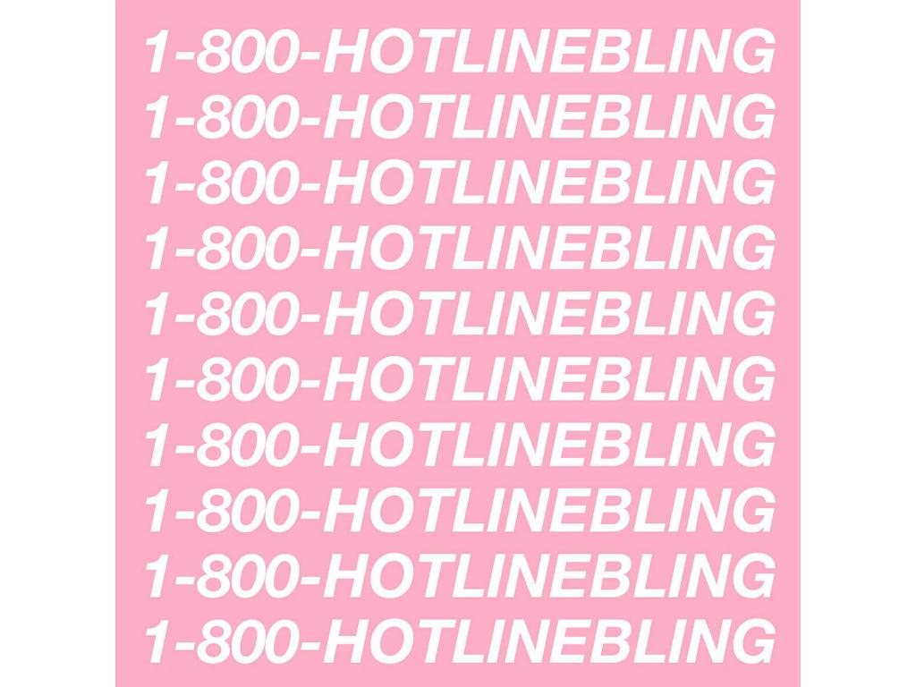 Best pop songs: Drake Hotline Bling