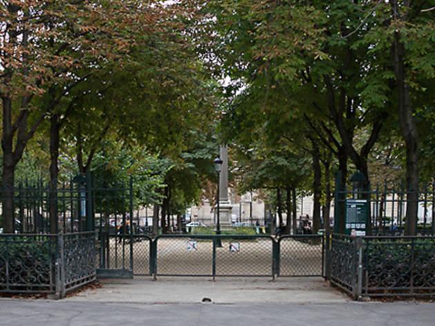 Le square Emile Chautemps