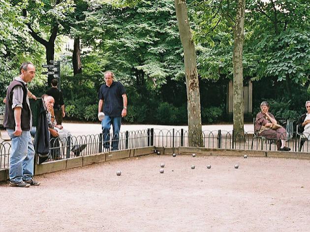 pétanque jardin du luxembourg