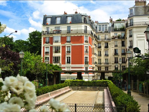 Le square Suzanne Buisson