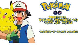 Pokémon Go Underwear Party