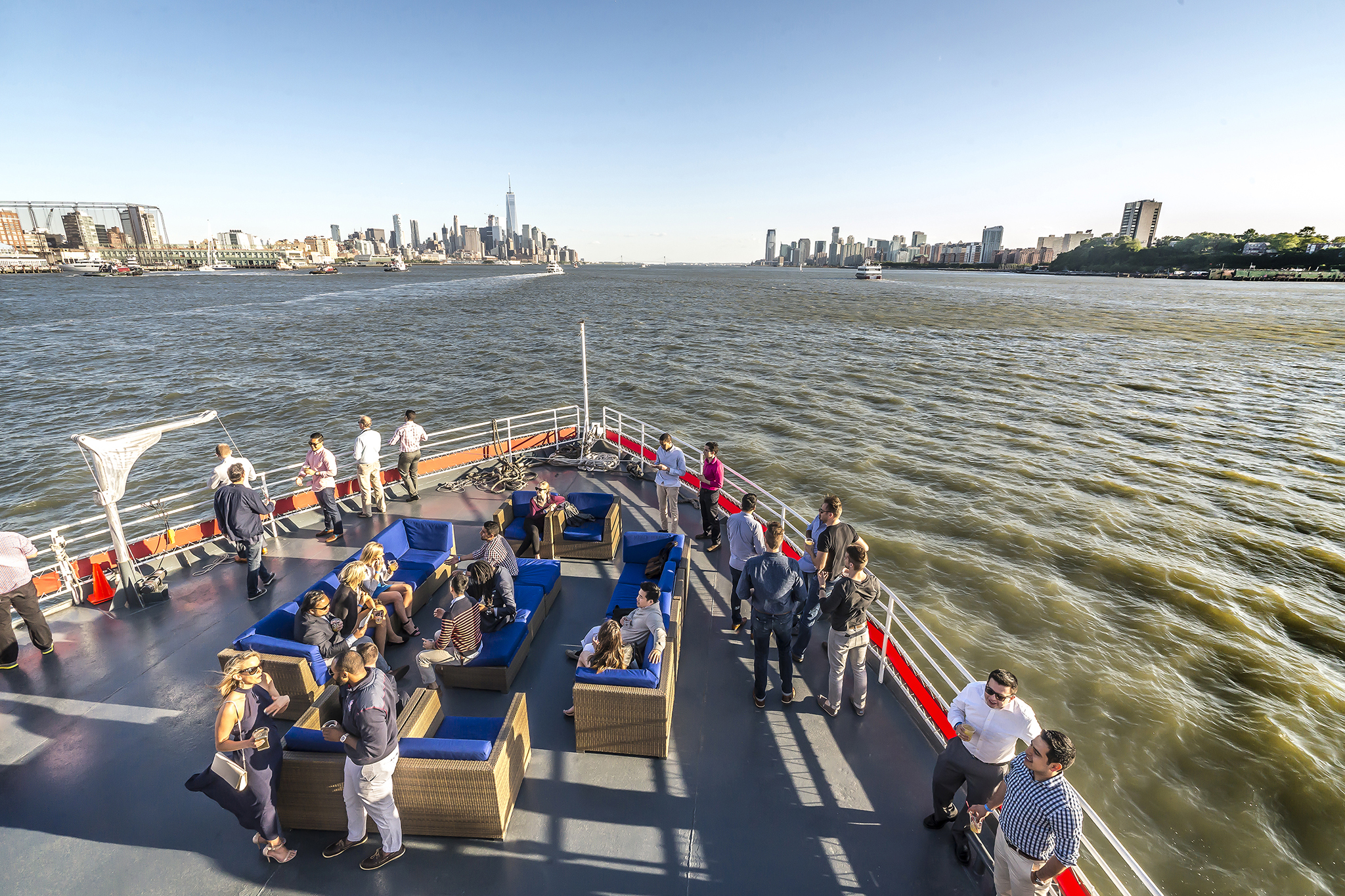 The best boat bars in NYC