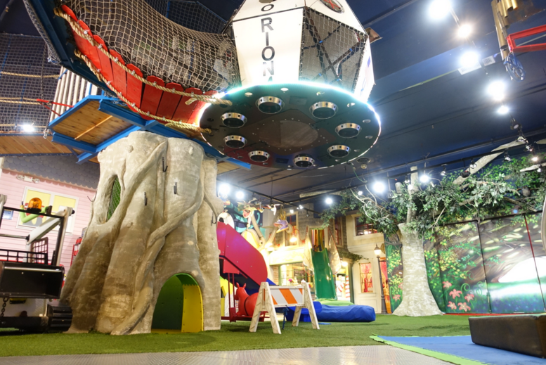 Jump Around At An Indoor Playground