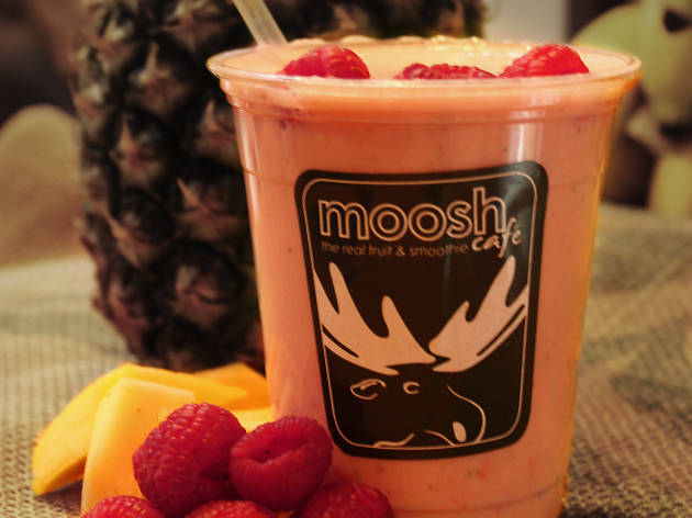London's best juice bars, Moosh