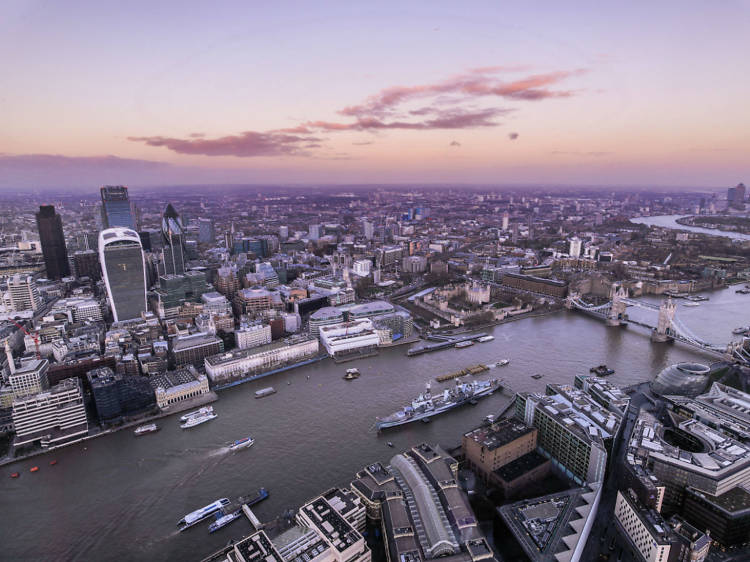 Admire London from above