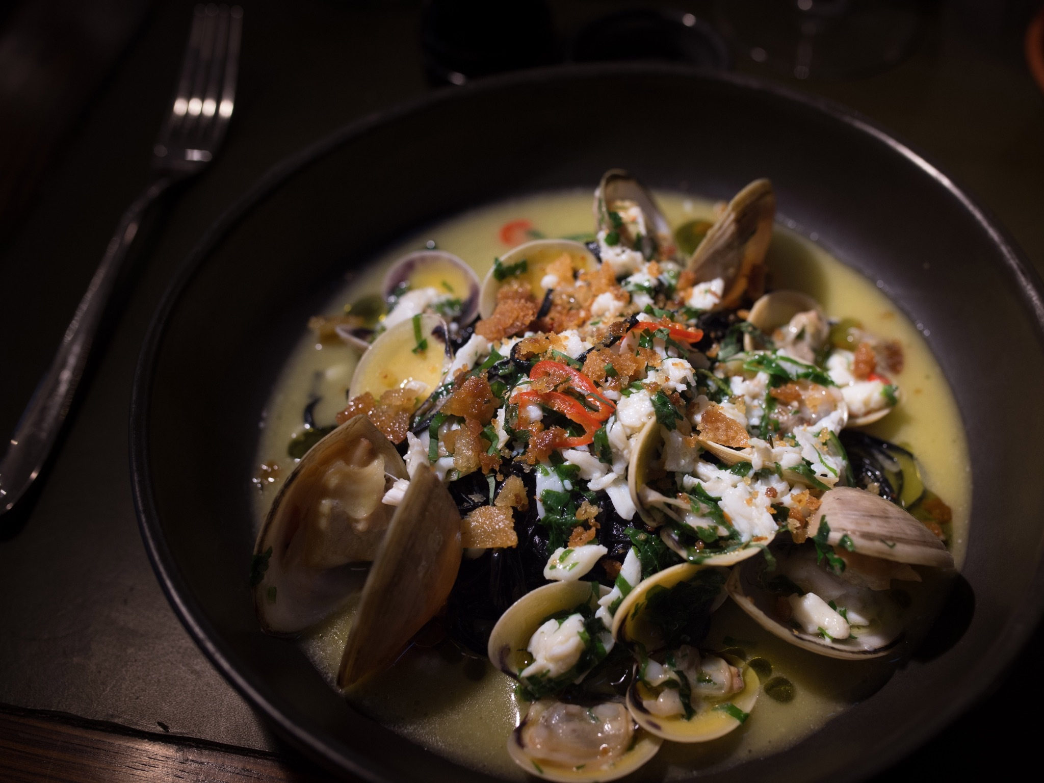 Seafood at Massi Osteria & Cafe