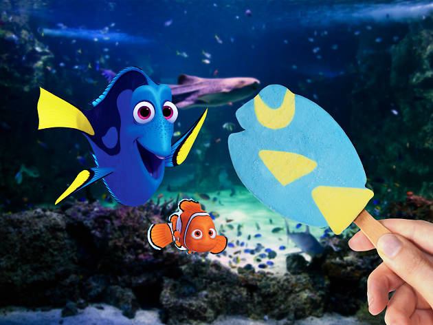 Streets Finding Dory competition