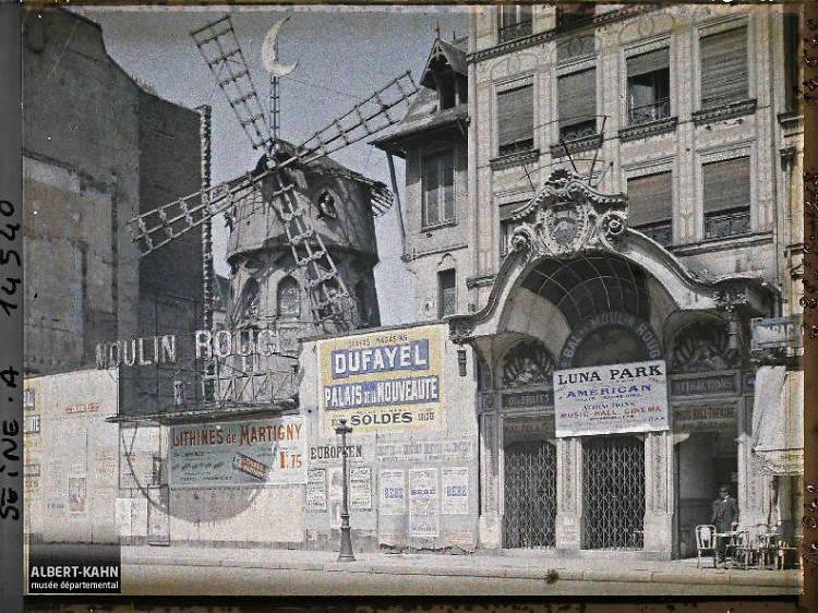 Des photos historiques de Paris mises en ligne par le musée départemental Albert Kahn