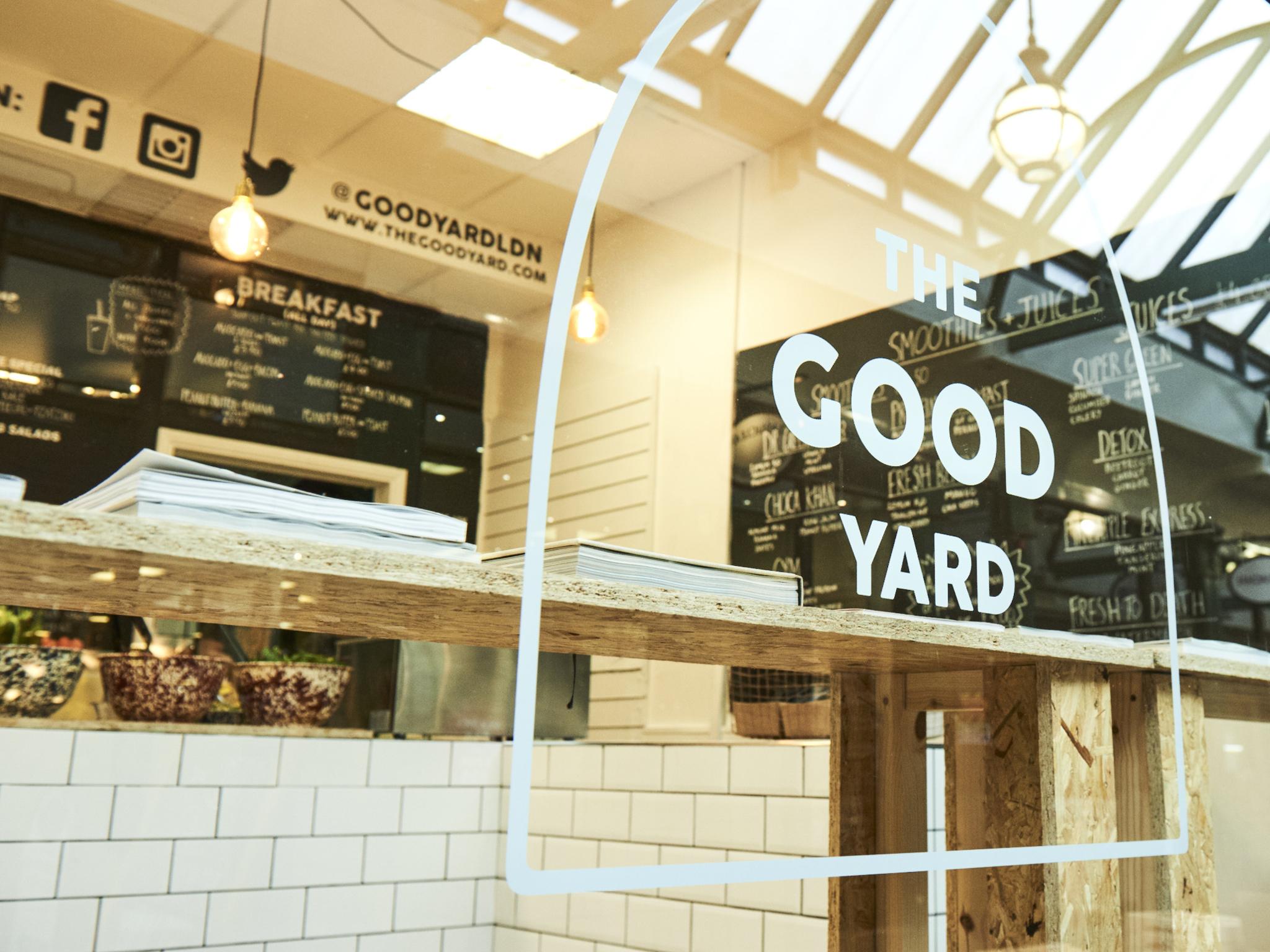 London's best juice bars, The Good Yard