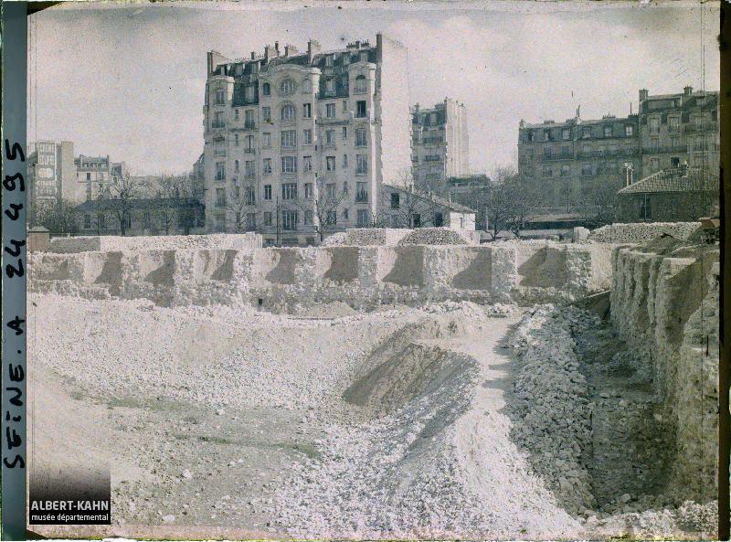 Des photos historiques de paris mises en ligne par le mus e d partemental albert kahn - Porte de saint cloud restaurant ...
