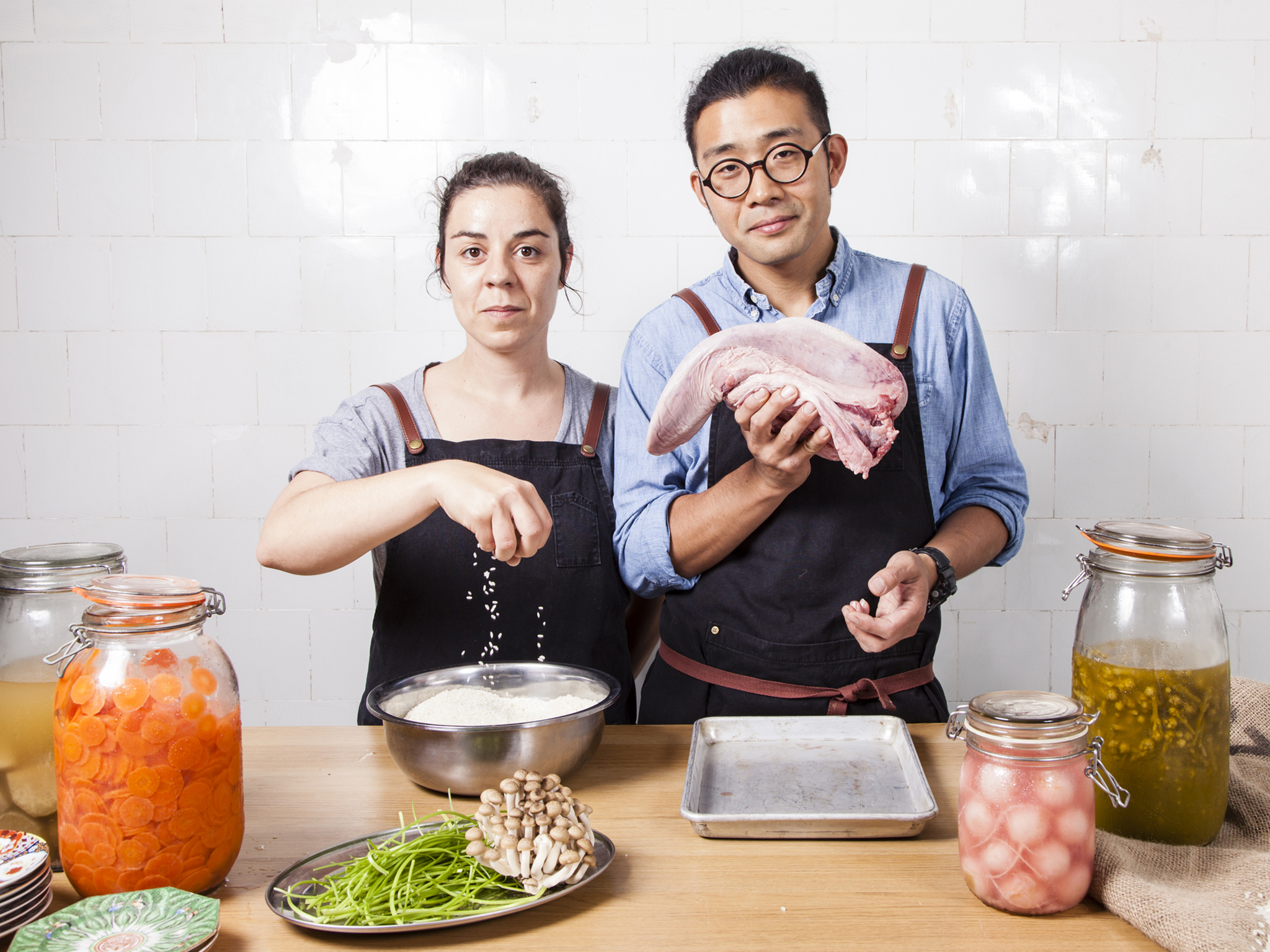 ana goncalves and zijun meng, curio and tata, london's hottest chefs