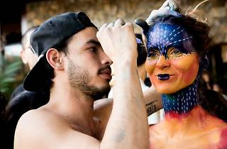 ABSTRACT: Body Painting Art & Music Party
