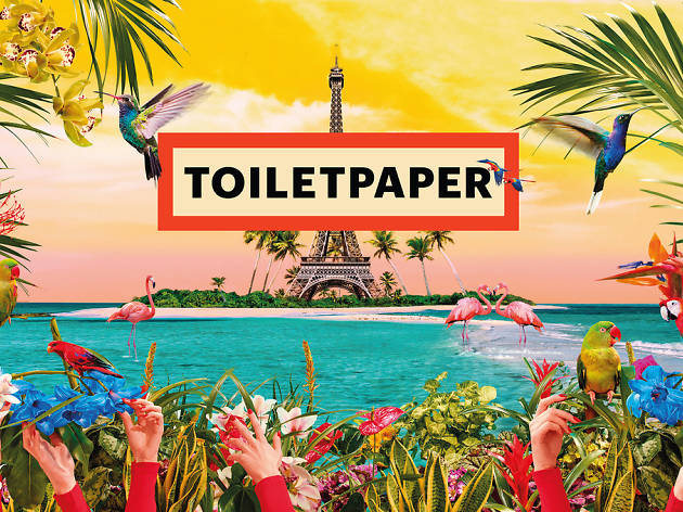 Toiletpaper aux Galeries Lafayette