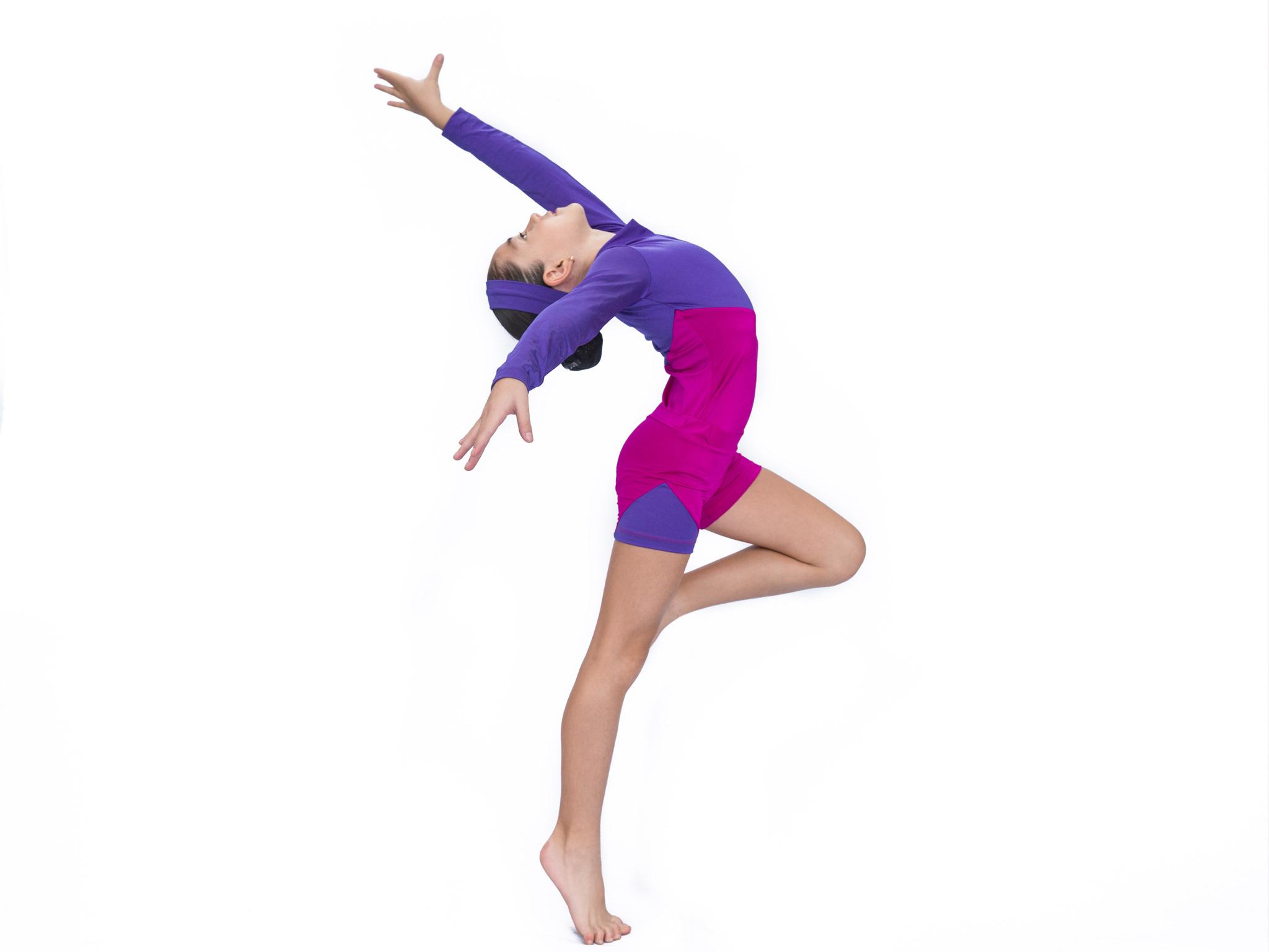 Gimnasia para niños en Baby Ballet