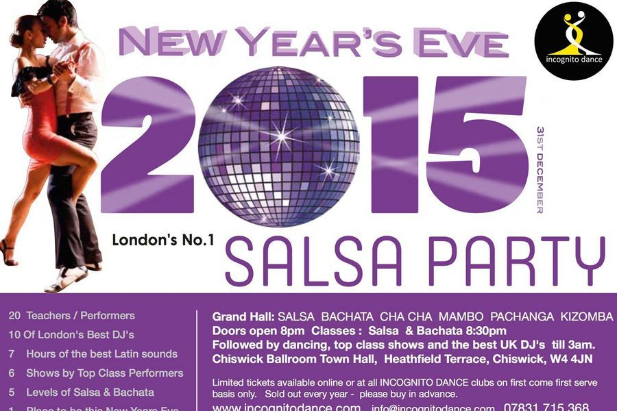 New Year's Eve Salsa Party