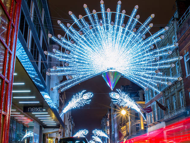 Christmas Lights in London: Bond Street