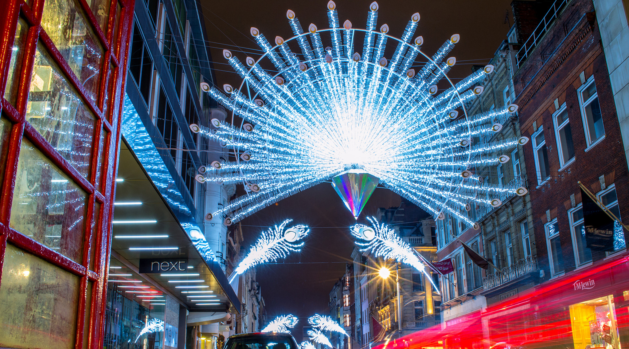 See the Christmas lights twinkling in central London