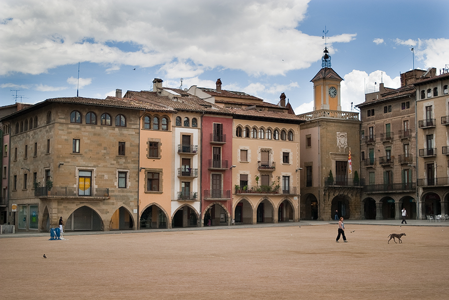 Plaça Major in Vic